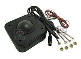 4.5 cm of lighted Diameter Round Connector PC Trackball mouse