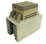 intellingent solid state relay SSR-40DA with cover, cooler, DC12V fan for 220V 4000W, 110V 2000W
